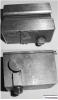 Support porte burin pour chariot à tronçonner schaublin 65 /70