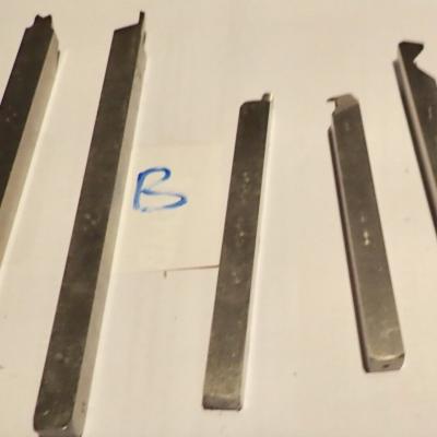 5  lathe tool 10 mm.