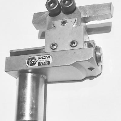 Sliding external-turning toolholder for vertical tool PCM