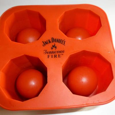 JACK DANIELS TENNESSEE FIRE Ice Shot glass