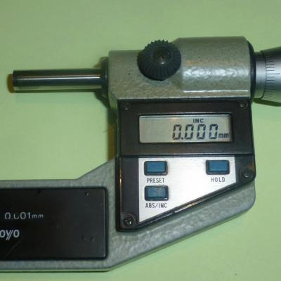 Zahnweiten   Mitutoyo 25-50 mm Numérique 0,001 mm/L