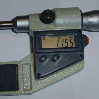 Micromètre Mitutoyo 0-25-mm Numérique 0,001 mm/L
