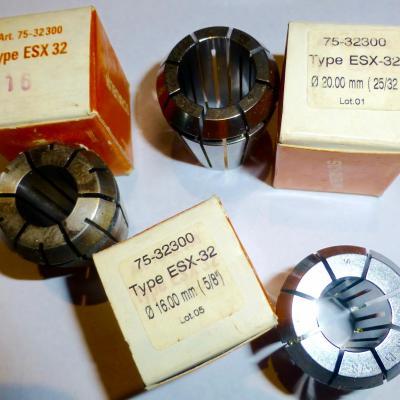 Zugspannzangen schaublin ESX 32 Art 75-32300,470 E.
