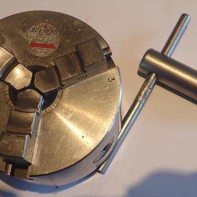 3-jaw chuck, ∅ 100 mm schaublin 102 W20