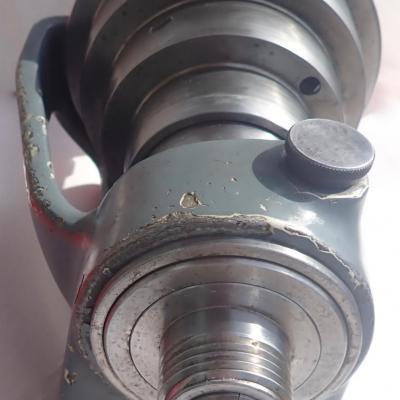 Poupée schaublin type W20 19,70 x1,666/102-21à palier avant lisse.