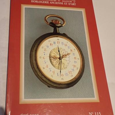 Horlogerie Ancienne revue n°115 2009