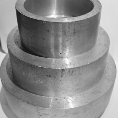 Aluminum stepped pulley