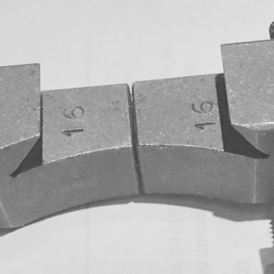 70-46-070 schlittenanschlag fur Schwalbenschwanz des oberschlitlens der Kreuzsupporte.
