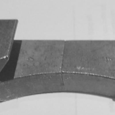 102-46-70 schlittenanschlag fur Schwalbenschwanz des oberschlitlens der Kreuzsupporte.
